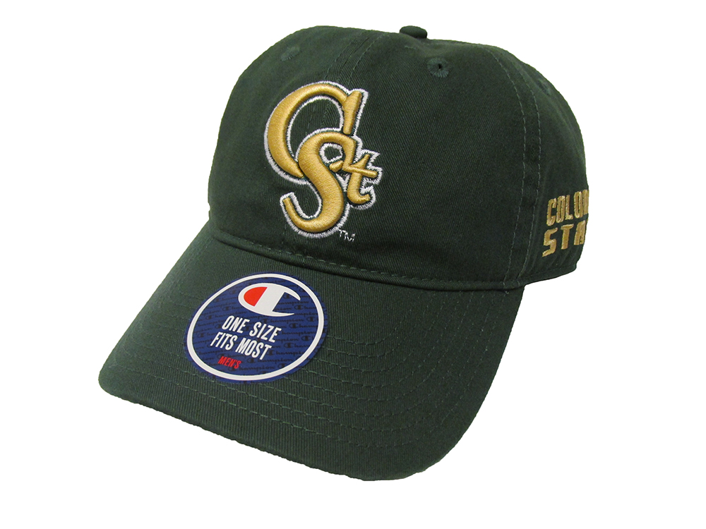 "Image For Green Colorado State ""C St"" Champion Hat"