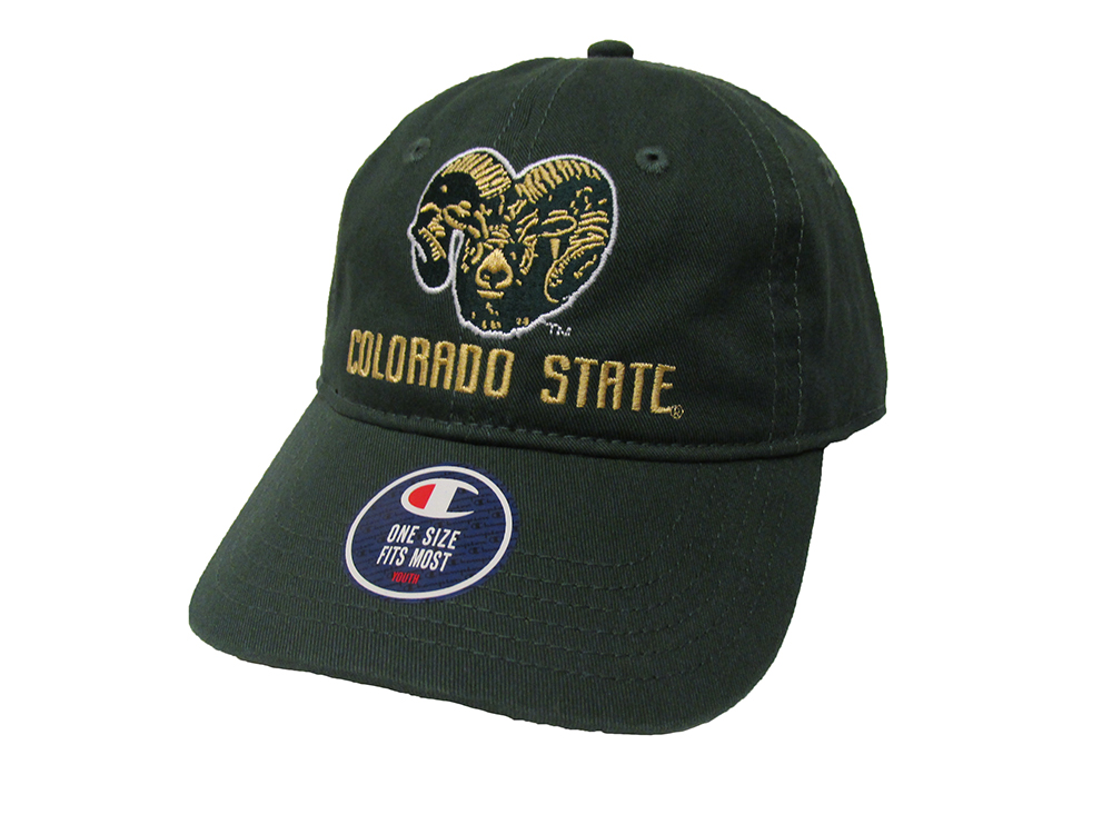 Cover Image For Youth Green Colorado State University Champion Hat