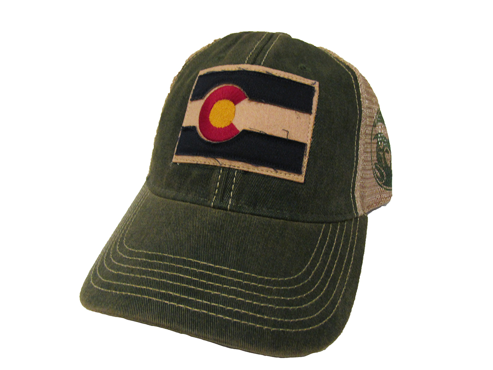 Image For Green Colorado State Flag Legacy Trucker Hat