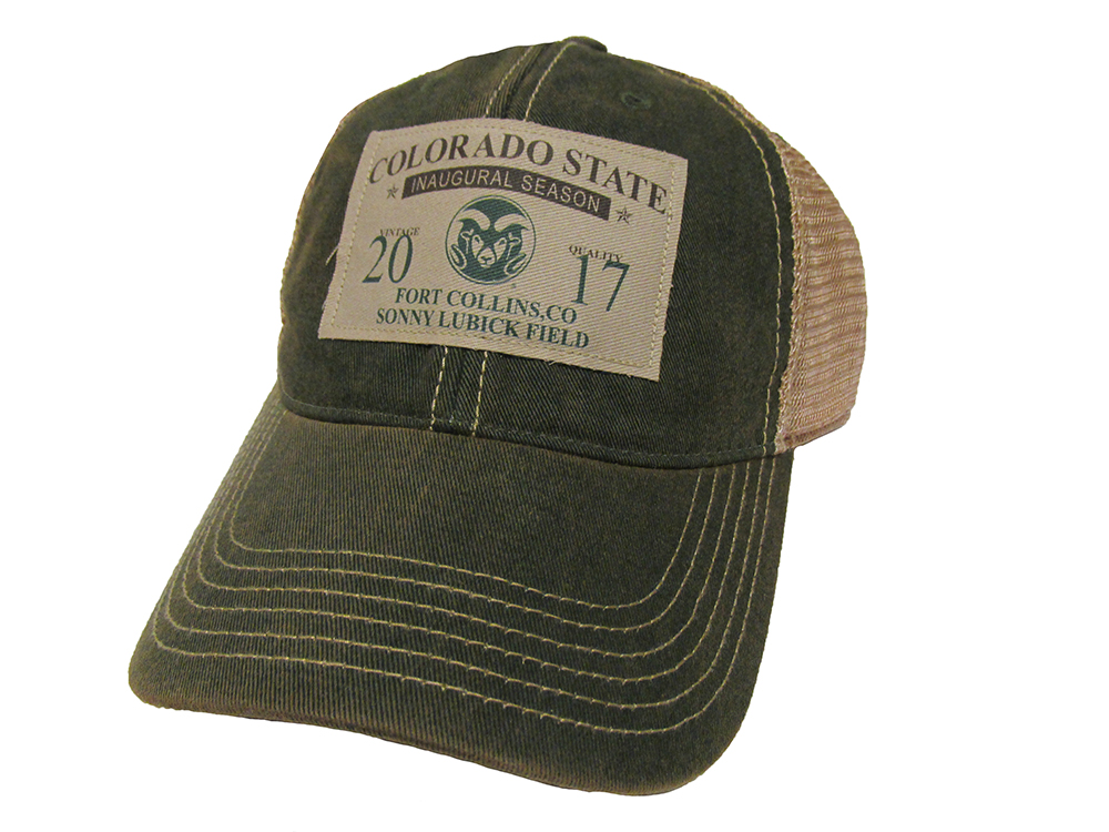 Image For Green Colorado State Inaugural Season Legacy Trucker Hat