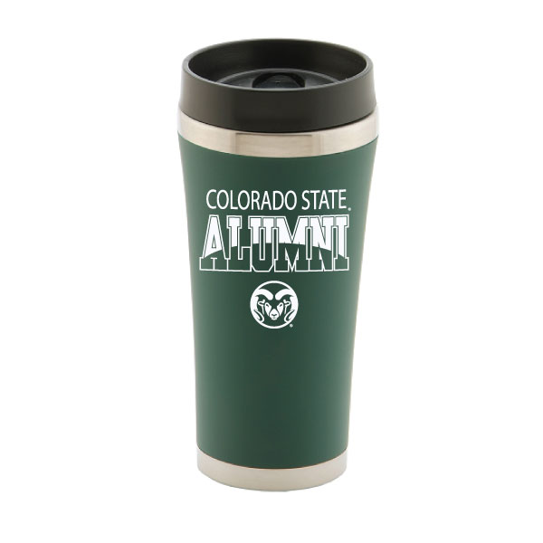Image For Green Colorado State Alumni 16 oz Tumbler