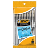 Image for Bic Black Xtra-Comfort Round Stick Grip Bic Pens - 8 Pack