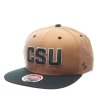 Image for Khaki/Green Colorado State CSU Zephyr Snapback Hat