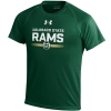 Youth Green Colorado State Rams Under Armour Stripe Out Tee