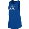 Image for Women's SAS Royal Blue Under Armour Cut Out Tank Top