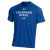 Men's Royal Blue Colorado State Pride Under Armour Tee Image