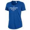 Cover Image for Women's Royal Blue Colorado State Pride Flag UnderArmour Tee
