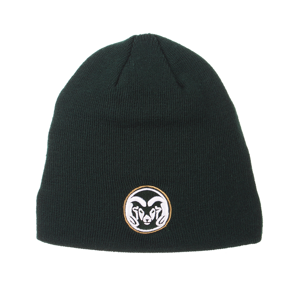 Image For Dark Green Ram Head Beanie by Zephyr
