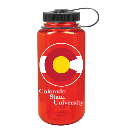 Image For Colorado State Price 32 Oz Red Nalgene