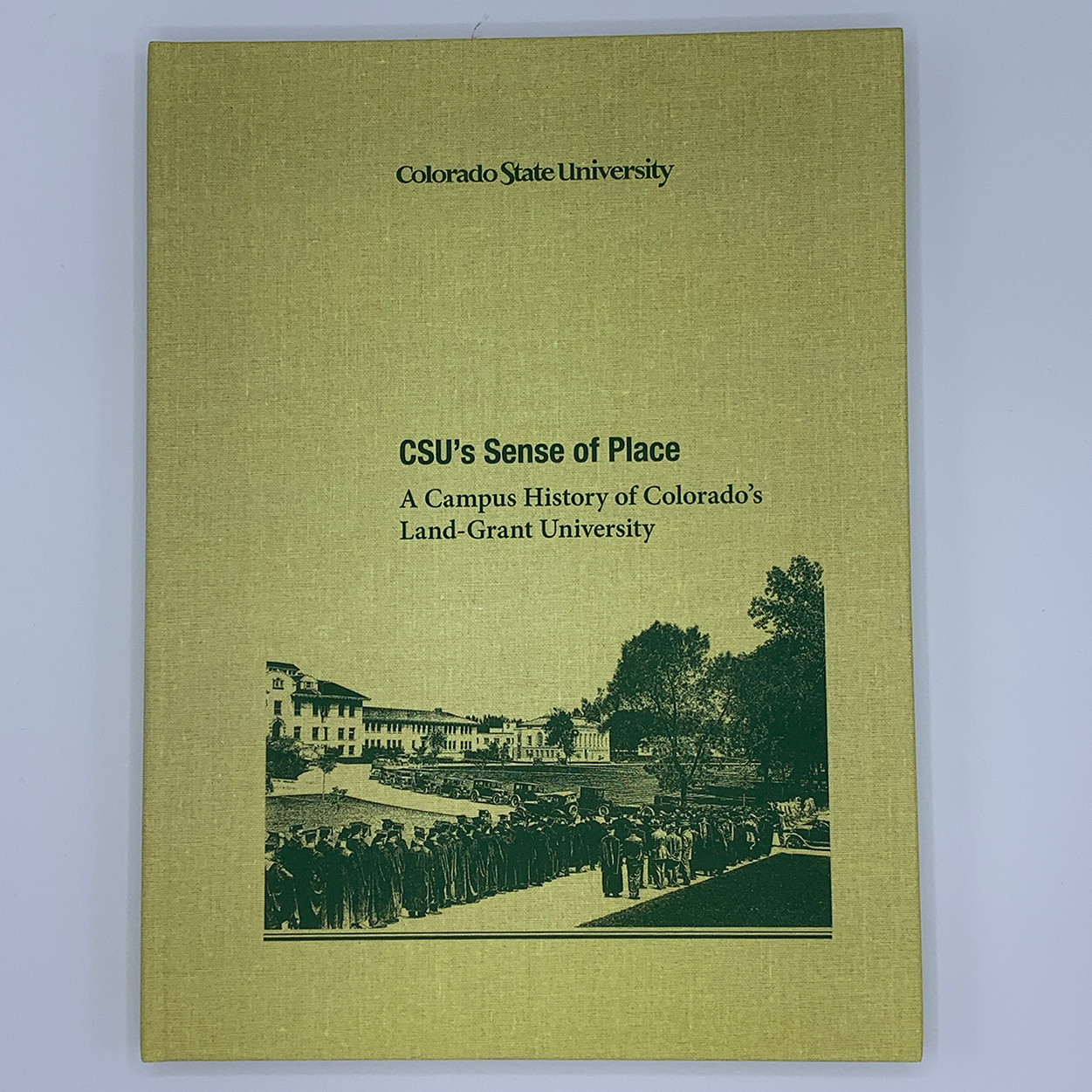Cover Image For CSU's Sense of Place by James Hansen