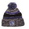 Image for Semester at Sea Black and Royal Granite Knit by Zephyr