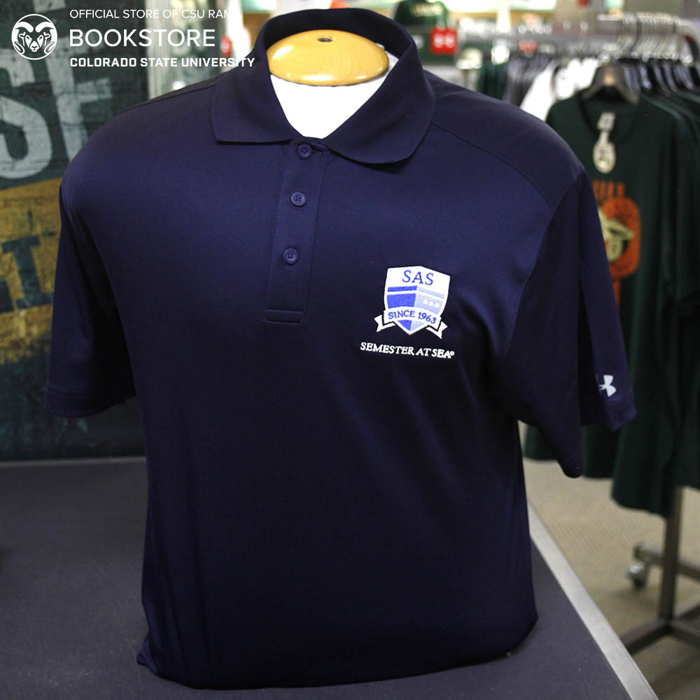 Image For Navy Semester At Sea Performance Polo