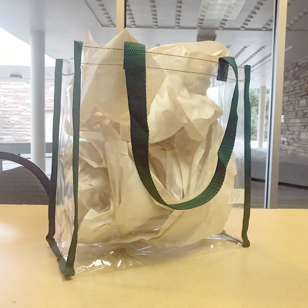 Image For Clear Stadium Tote