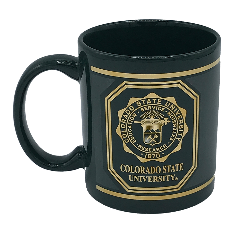 Image For Colorado State University Seal Green 11oz Mug