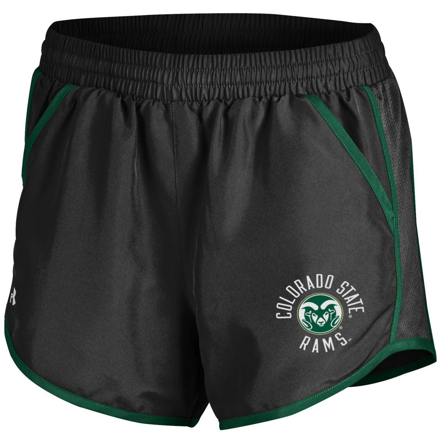 Cover Image For Black Women's Colorado State Under Armour Shorts