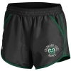 Black Women's Colorado State Under Armour Shorts Image