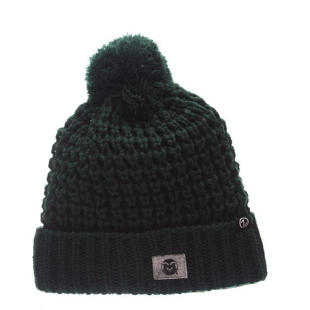 Image For Forest Green Cozy Knit Hat