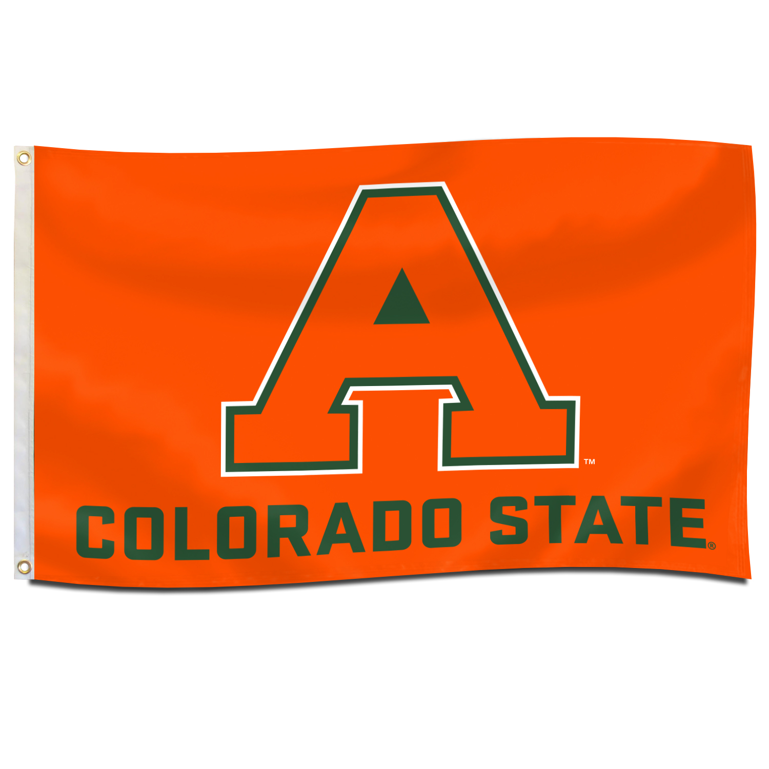 Image For 3'x5' Orange Colorado State Aggie Flag