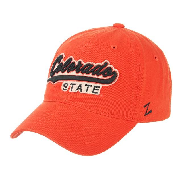 31e9362395b Colorado State University Orange Relaxed Wash Hat