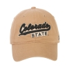 Image for Khaki Colorado State Zephyr Hat