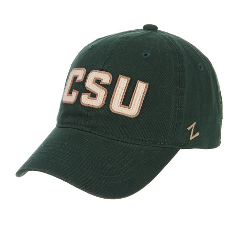 Image For Green Colorado State CSU Rams Zephyr Hat