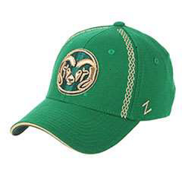 Image For Green and Gold Colorado State Zephyr Hat - Xlarge