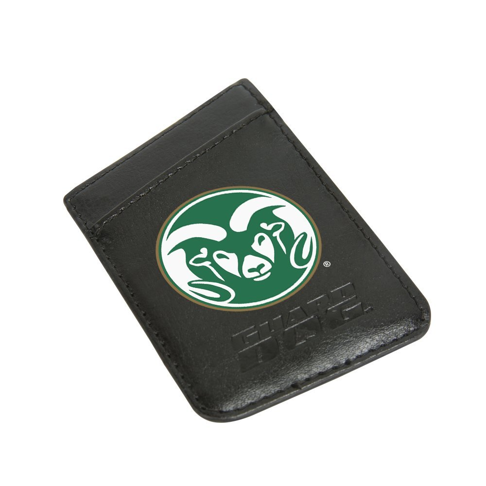 Cover Image For CSU Guard Dog Leather Phone Wallet with RFID Protection