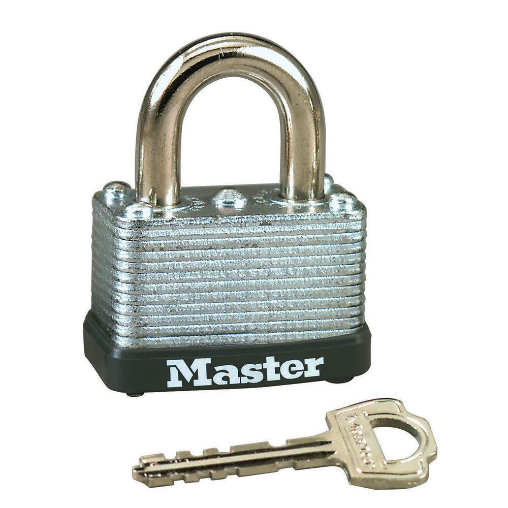 Image For MasterLock 1-1/2in Wide Laminated Steel Padlock