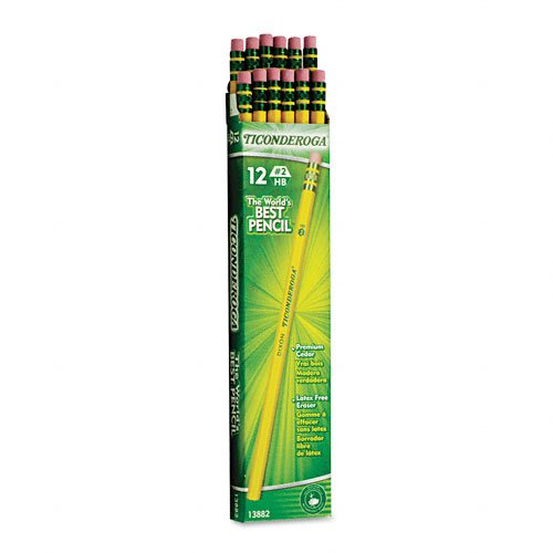 Cover Image For Dixon Ticonderoga Unsharpened #2 Pencils 12 Pack