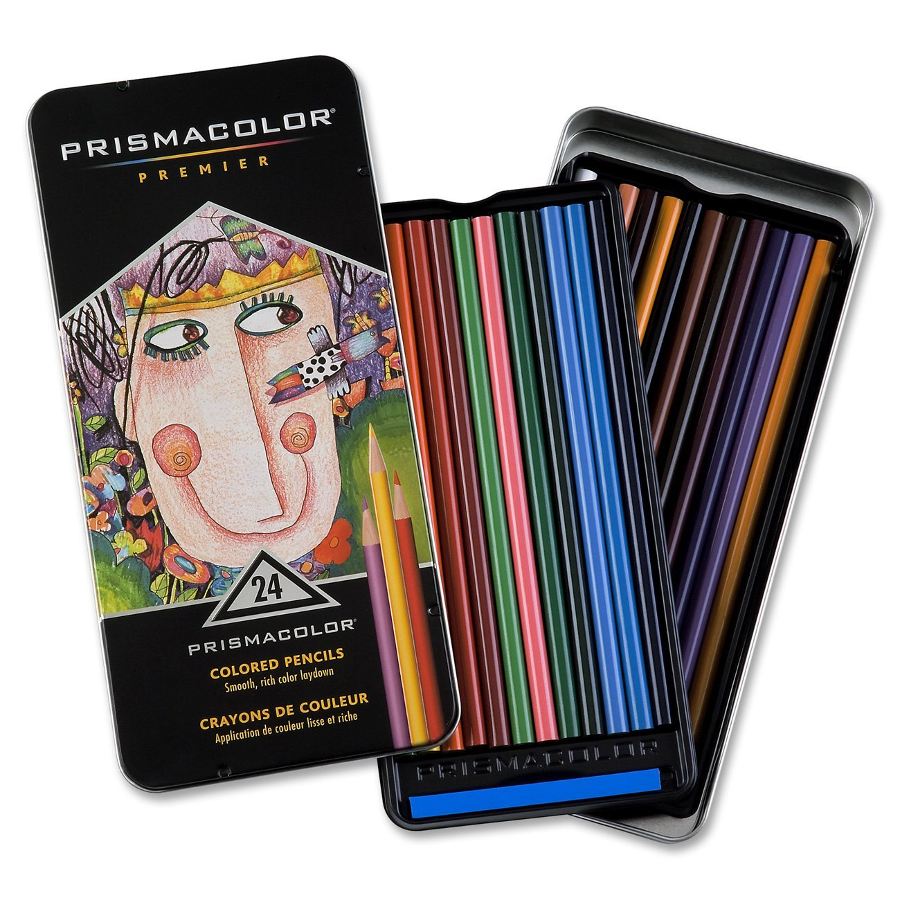 Cover Image For Prismacolor Premier Colored Pencils 24 count Pack