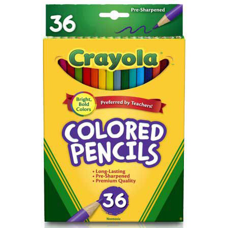 Image For Crayola Colored Pencils - 36 Count