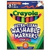 Image for Crayola Broad Line Markers 8 Count Bold Colors