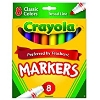 Image for Crayola Classic 8 Count Broad Line Markers