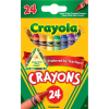 Image for Crayola 24 Count Crayon Box