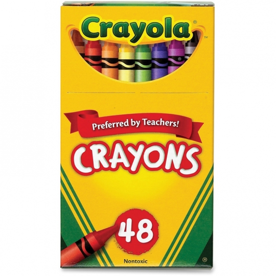 Cover Image For Crayola 48 Count Crayon Box
