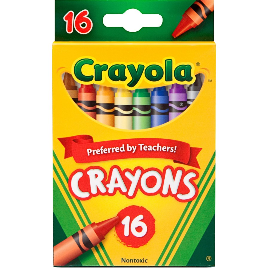 Cover Image For Crayola 16 Count Crayon Box