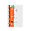 """Image for Whitelines Lined 8.5"""" x 5.25"""" Spiral Notebook - 70 Sheets"""