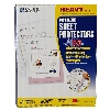 Image for Heavyweight Poly Sheet Protectors