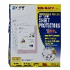 Image for Heavyweight Poly Sheet Protectors with Antimicrobial Protect