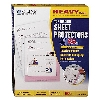 Image for Heavyweight Poly Sheet Protectors without glare