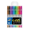 Image for Bazic 10 Color G-Flex Oil-Gel Ink Pen with Cushion Grip