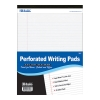 "Image for Bazic 8.5"" X 11.75"" White Perforated Writing Pad"