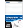 "Image for Bazic 5"" X 8"" White Jr. Perforated Writing Pad 3 pack"