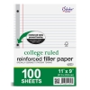 Image for 100 Count Reinforced Filler Paper - College Ruled