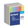 "Image for Oxford Mini Index Cards, 3"" X 2.5"", Ruled, Assorted Colors"