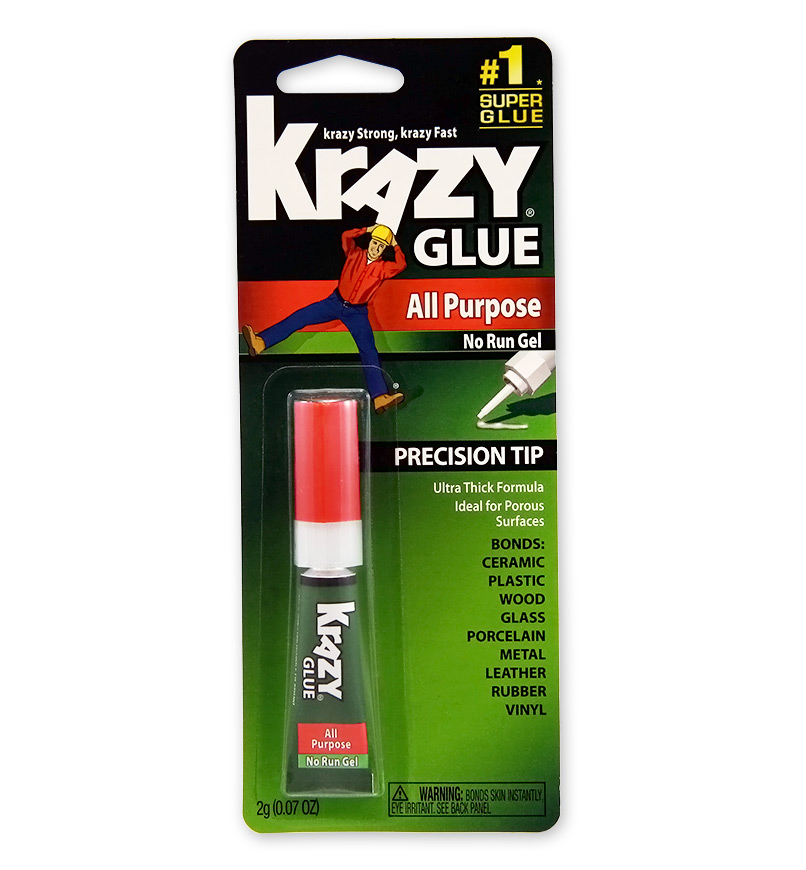 Image For Krazy Glue All Purpose No Run Gel