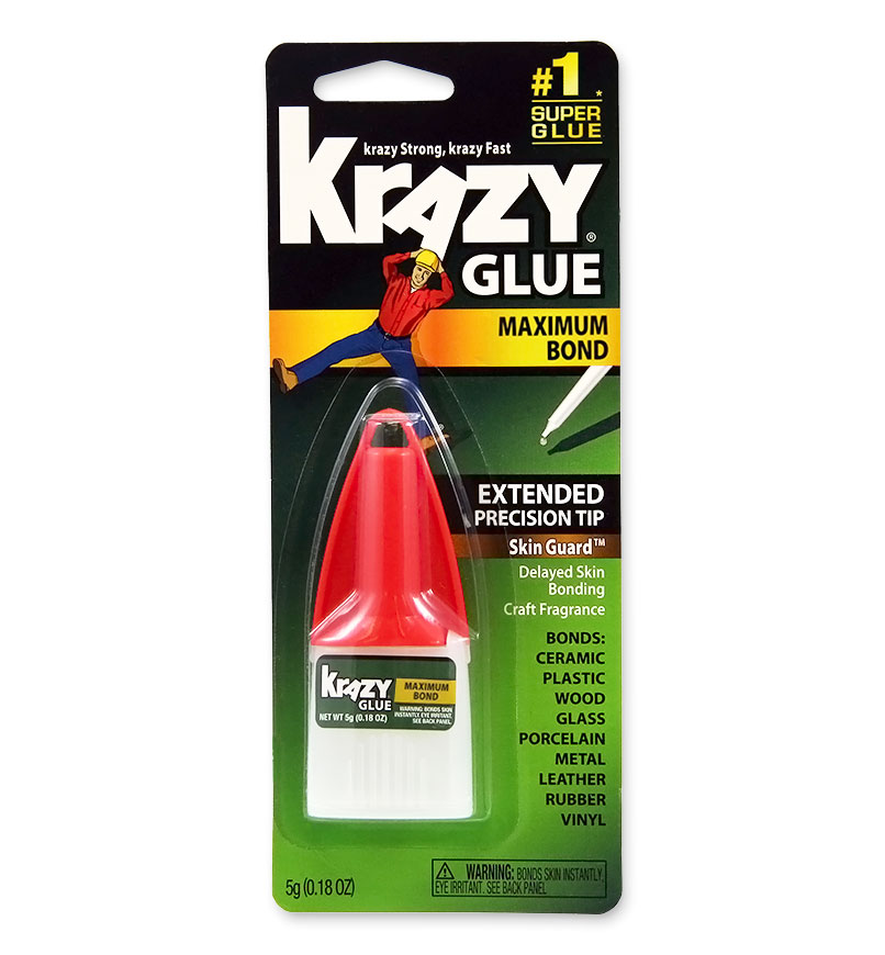 Image For Maximum Bond Krazy Glue with Extended Precision Tip