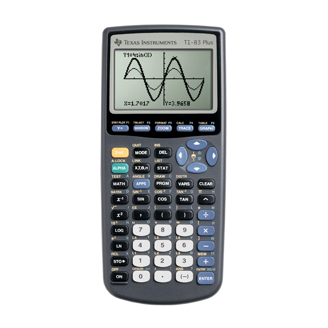 Image For Texas Instruments TI-83 Plus Graphing Calculator