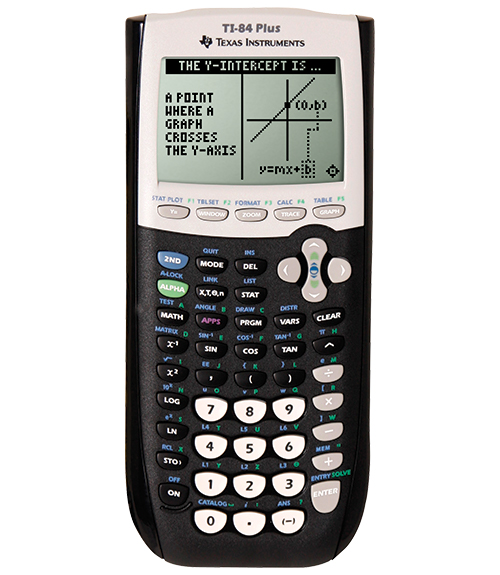 Cover Image For Texas Instruments TI-84 Plus Graphing Calculator