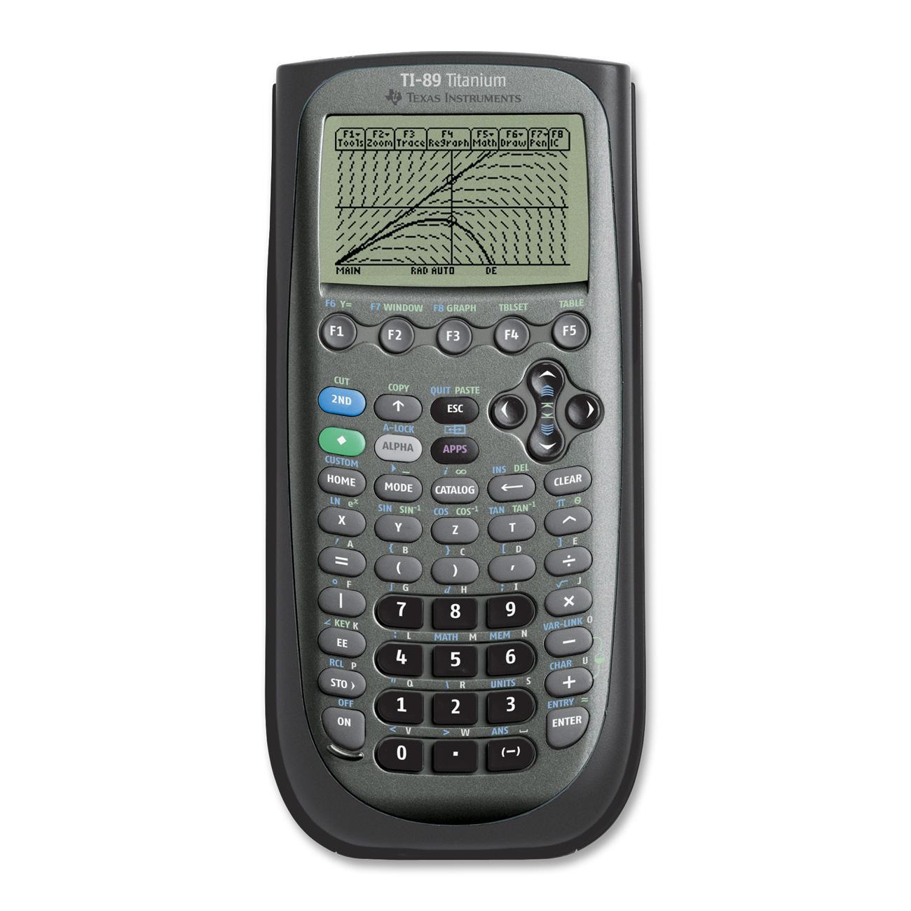 Texas Instruments Ti 89 Titanium Graphing Calculator Csu Bookstore